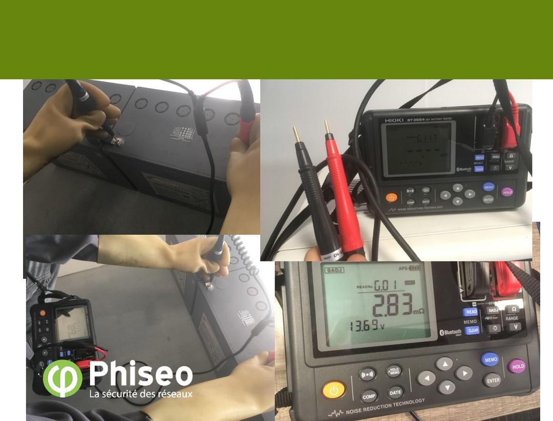mesure batteries V2